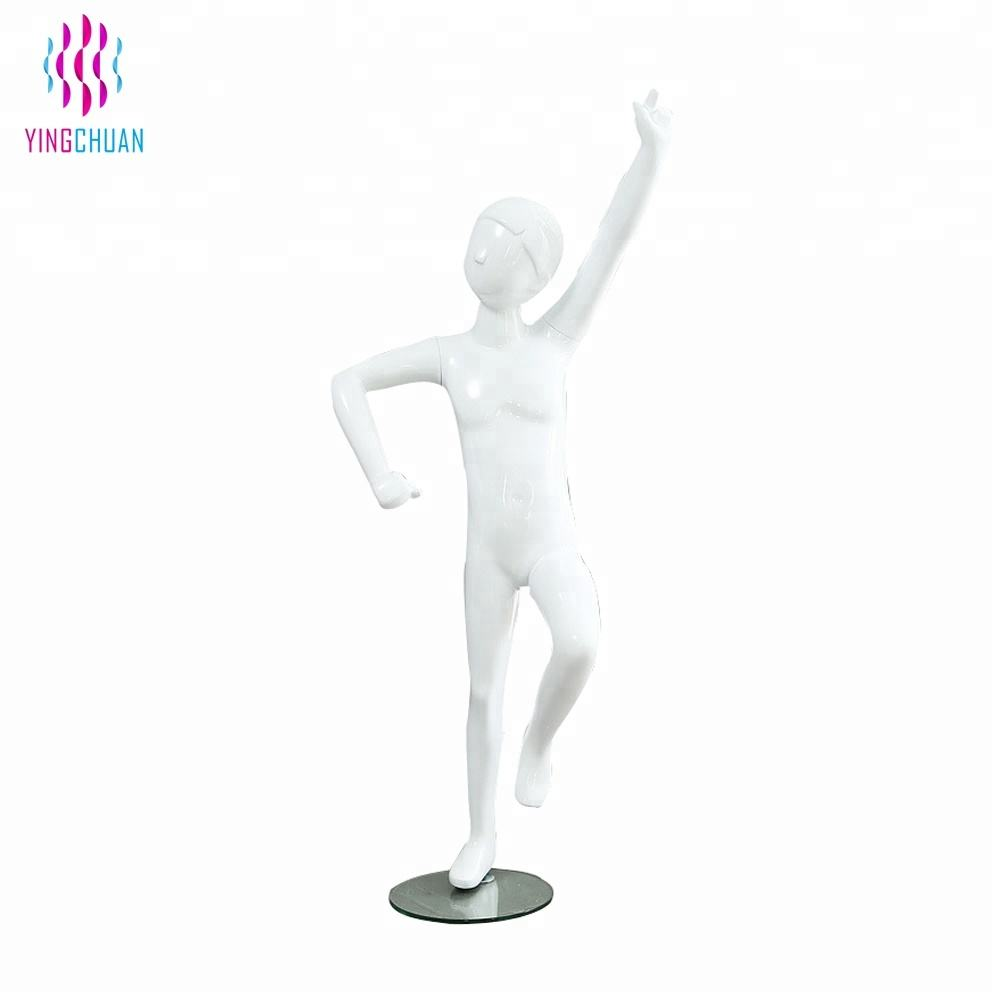 Egg head teen child boy sporting display mannequin models kids movable on sale
