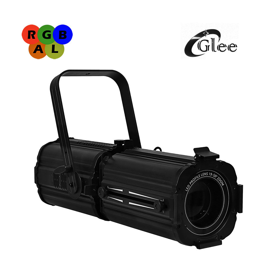400W RGBAL 5 Warna Teater LED RDM Zoom Profile Ellipsoidal Leko Spot Light