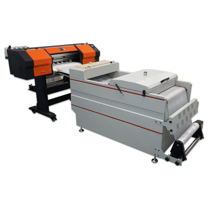 Powder Shaking Printing Machine T Shirt Pet Heating Transfer Film Digital Printer Inkjet White Ink Heat Transfer