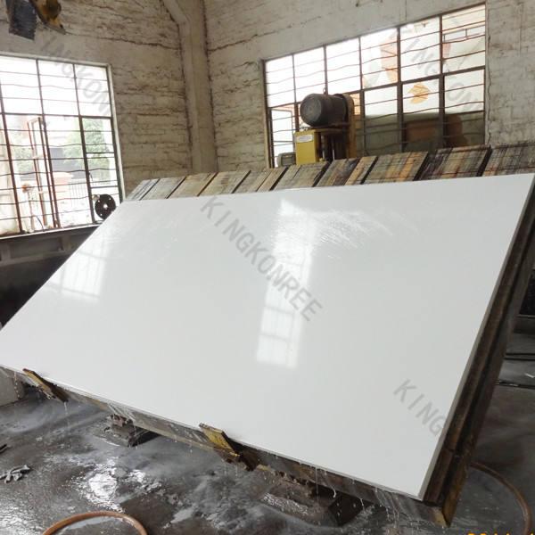Beste qualität kkr quarz steinplatten milchig weiß quarz