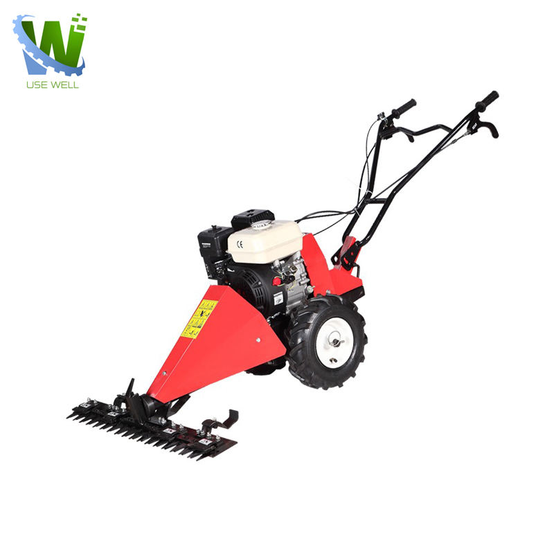 China Large self-propelled hand push lawnmowers manual grass cutter machine electric petro diesel four-stroke lawn mower price