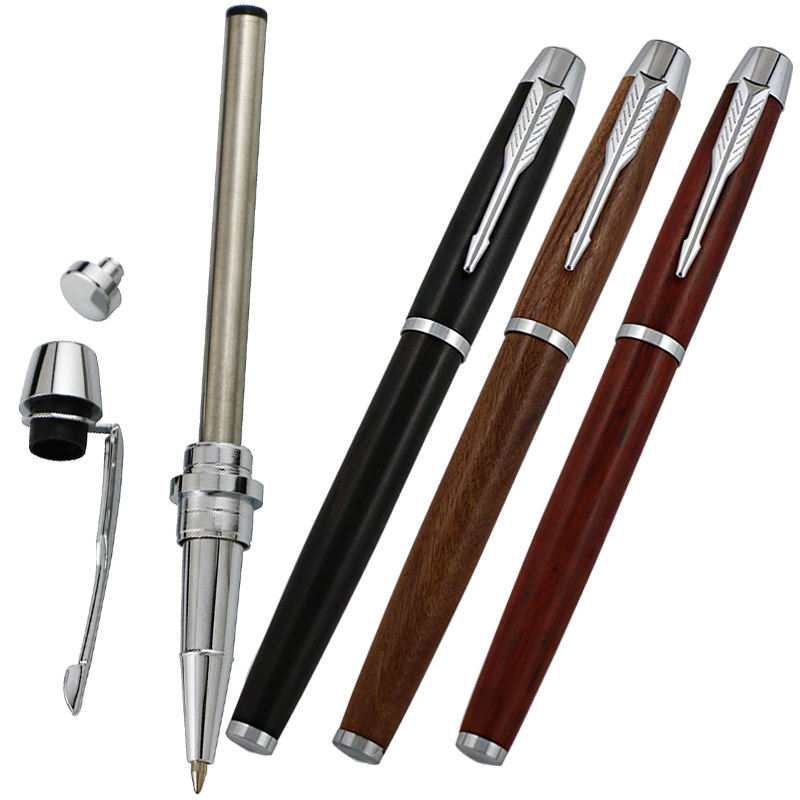 taiwan pen kits manufacturers solid brass wooden ink/ fountain pen making kits pen kit woodturning