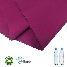 wholesale outdoor fabric waterproof 100% polyester woven 4 way stretch spandex fabric recycled outdoor fabric for Garment