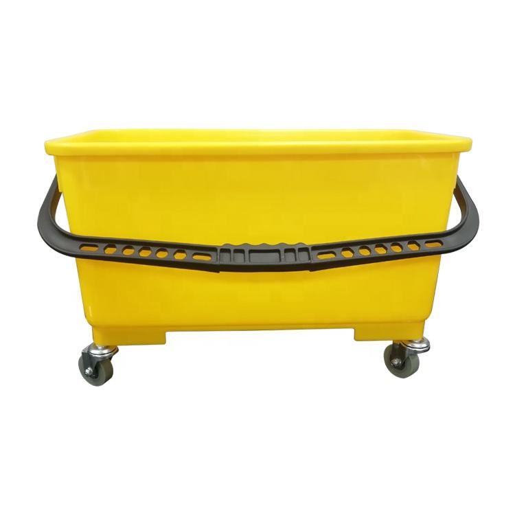 Multi-functional plastic utility bucket / hotel cleaning plastic rectangle water bucket