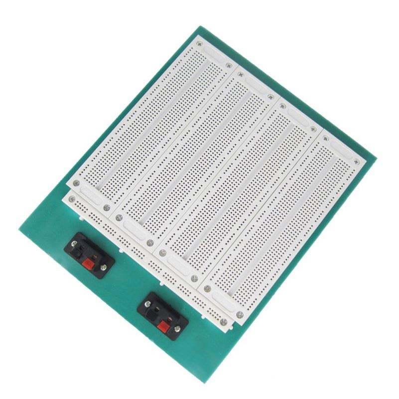 4 In 1 700 Position Point SYB-500 Tiepoint PCB Solderless Bread Board Breadboard