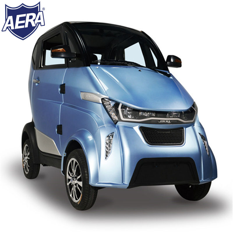 SX-J2 EEC 3000W fully enclosed electric car mini moke lithium battery 4 wheel electric scooter car