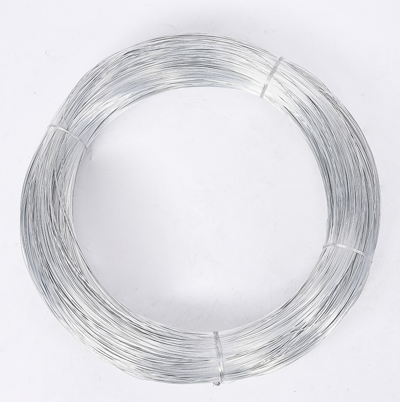ISO certificate hot dipped galvanized wire Electro galvanised iron wire