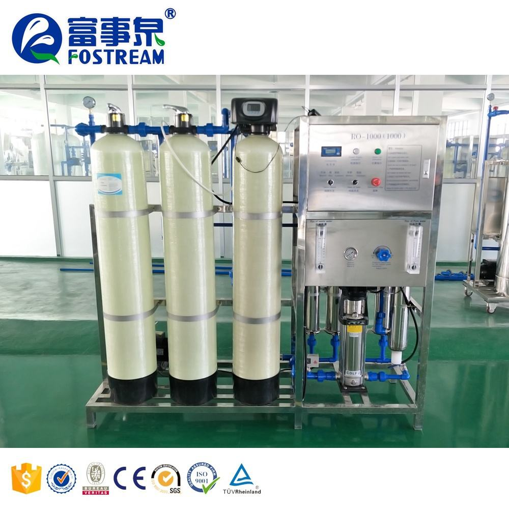 Fostream Factory Price Reverse Osmosis Drinking Water Purification System / RO Water Treatment Plant