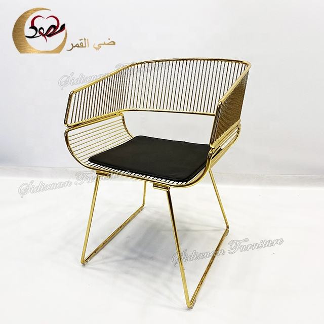 Meubelen Chaise Lounge Stoel Luxe Moderne Ijzer Leisure <span class=keywords><strong>Accent</strong></span> Stoel