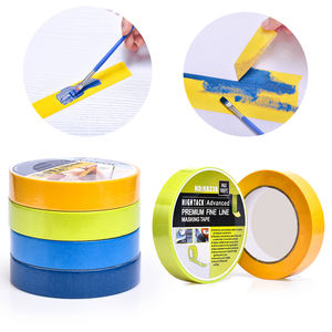 1.5inch core Colored paper Masking Tape-1Inchx20M Kids DIY Craft Set Colors Painters Tape 2inch core and 3inch core masking tape