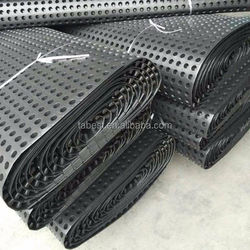 hdpe drain board for roof garden