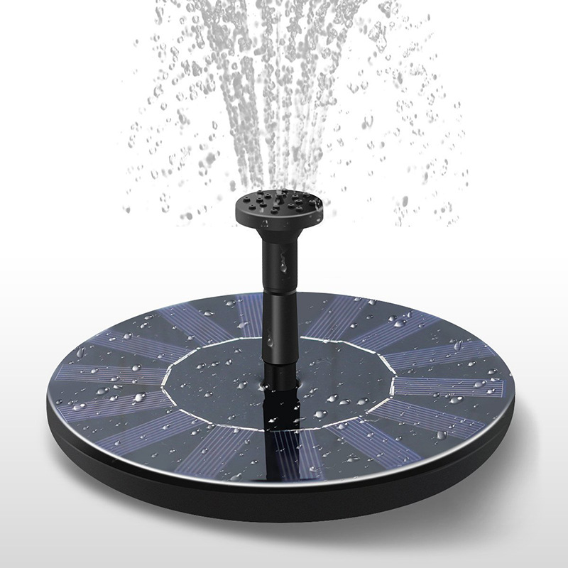 New Product Outdoor Mini Solar Fountain Floating Fountain Garden Fountain