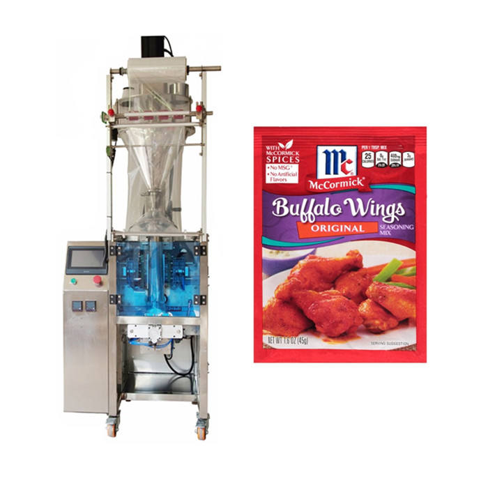 Automatic Small Vertical Sachets Spice Powder Coffee Grain Flour Tea Powder Bag Filling Weight Packing Machine