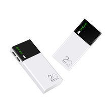 Mobile Power Bank 20000mAh OEM powerbank portable charger external Battery  20000 mAH power banks gifts