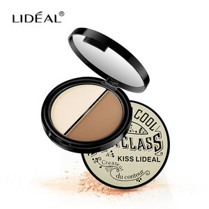 LIDEAL Double colors Shadow silhouette three dimensional repair high-gloss powder for fashion ladies