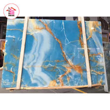 Good Price Translucent Pakistani Blue Marble Onyx Stone