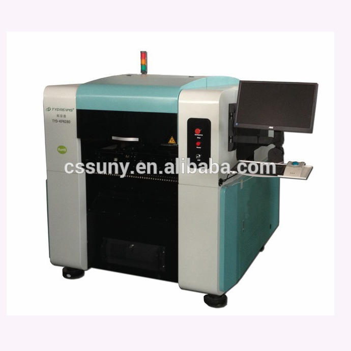 automatic pick and place machine,led lamp manufacturing machinery,fast smt automatic PCB pick 4 heads PCB pick and place