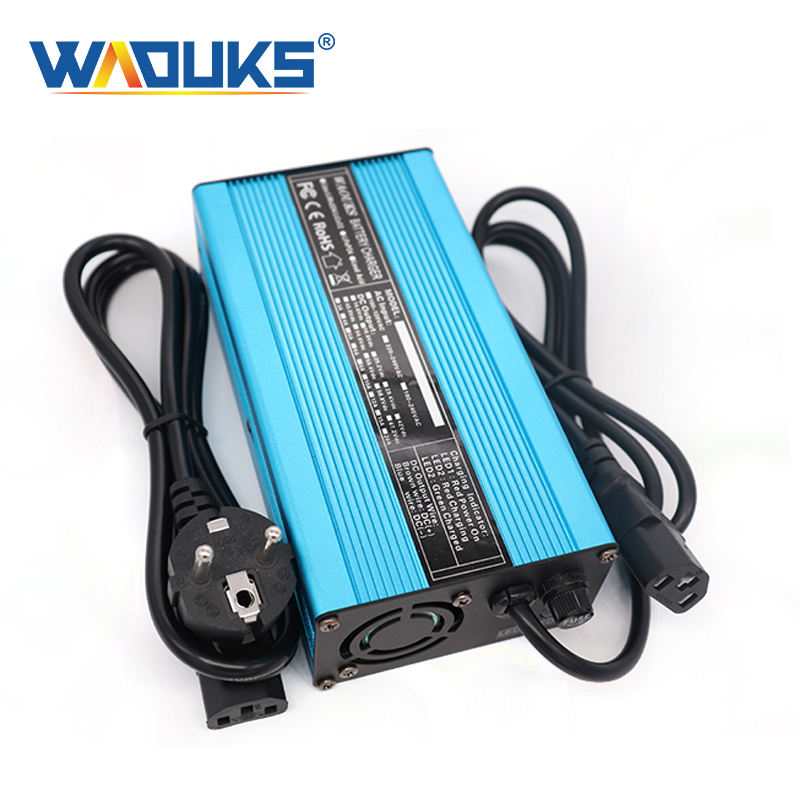24V 4A Charger 27.6V Lead Acid Battery Charger For E-Bike Battery Float charge 29.4V Auto-Stop Smart Charge