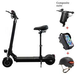 Outdoor Sports 36v E scooter Long Range Two Wheel Foldable Adult Electric Scooter with Seat