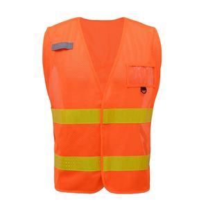 DIGITAL SPOT Boys High Vis Cycling Safety Waistcoat Kids Sleeveless Junior Vest