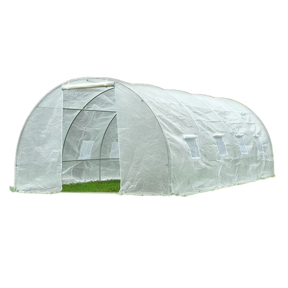 Walk in Poly Tunnel Greenhouse for sale 4x3m