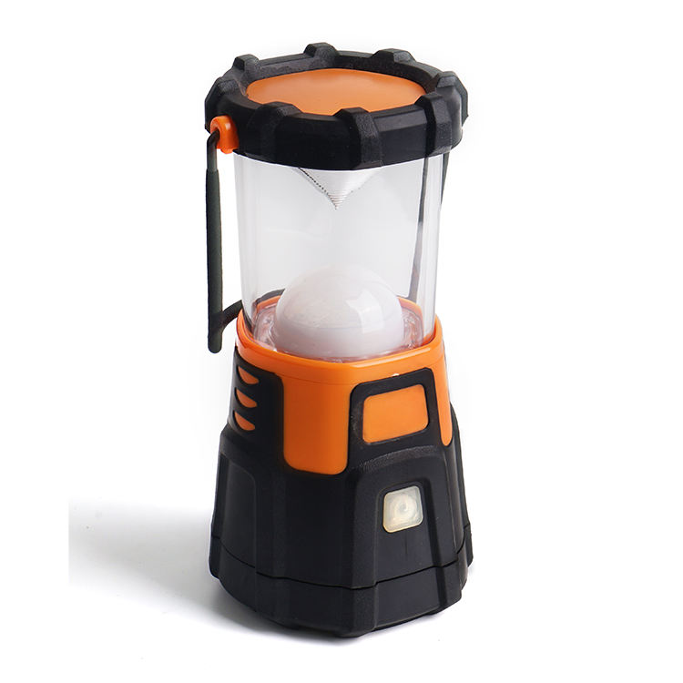 OEM Wholesale Portable Led camping lamp Multifunctional Dry cell camping lantern and rechargeable usb camping light