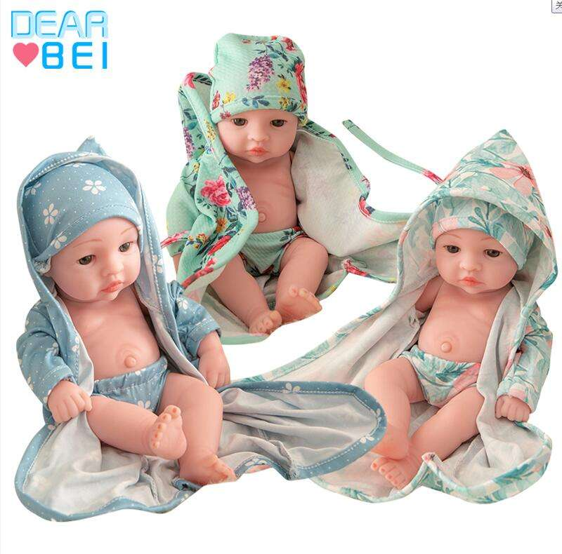 Simulation Reborn Baby Doll Handmade,Non-Toxic Baby Doll Reborn Silicone,Environmentally Friendly Baby Doll Toys