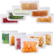 Customized Durable PEVA FDA Leakproof Large Capacity Cooler Bag Zip Lock Food Storage Polybags