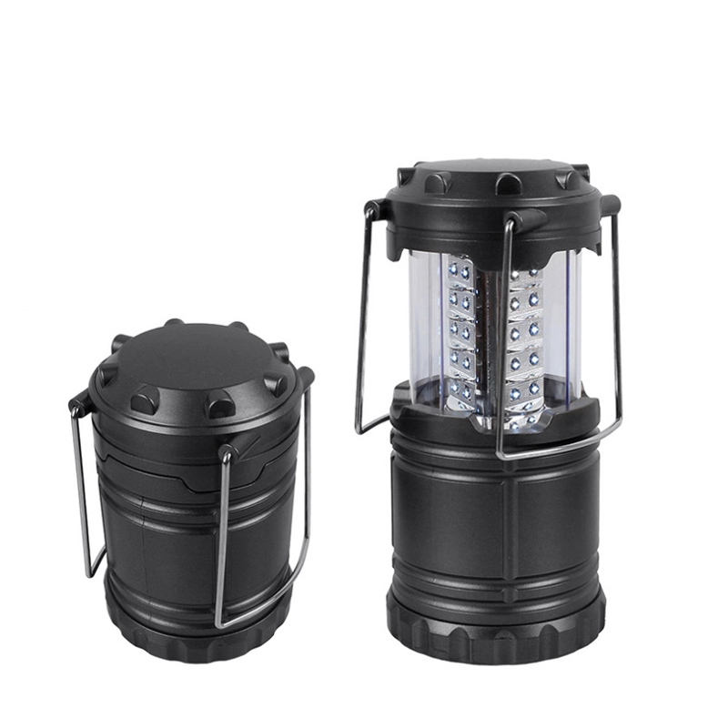 30 LED Portable Telescopic Camping Lantern Light Outdoor Tent Portable Lantern Camp Outdoor Lighting Folding Camp Tent Lamp