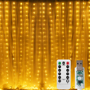 High Quality Ip65 Led Window Curtain String Light Waterproof Christmas Party Wedding Decoration