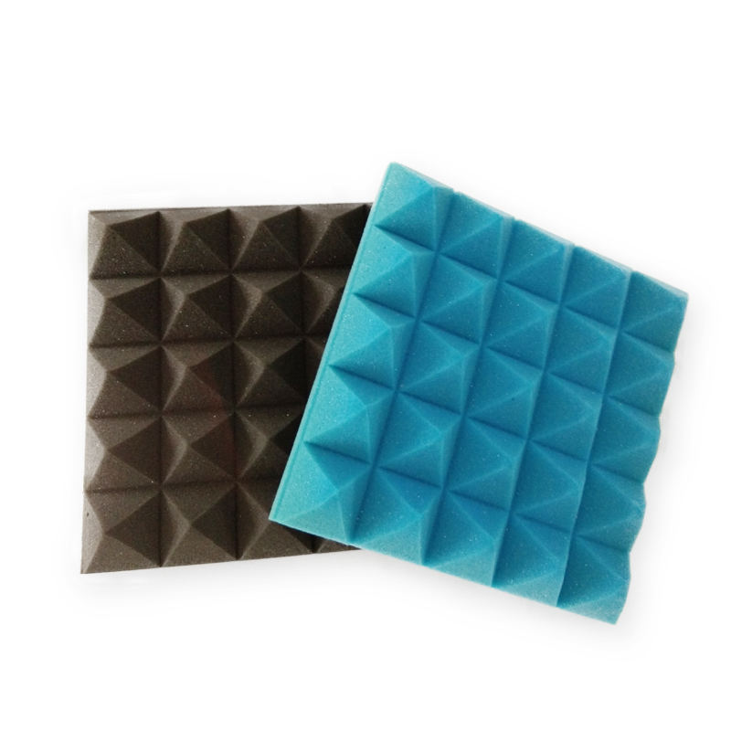 Sound Insulation Radio Room Use Fireproof Adhesive Custom Shape Soundproof Sponge