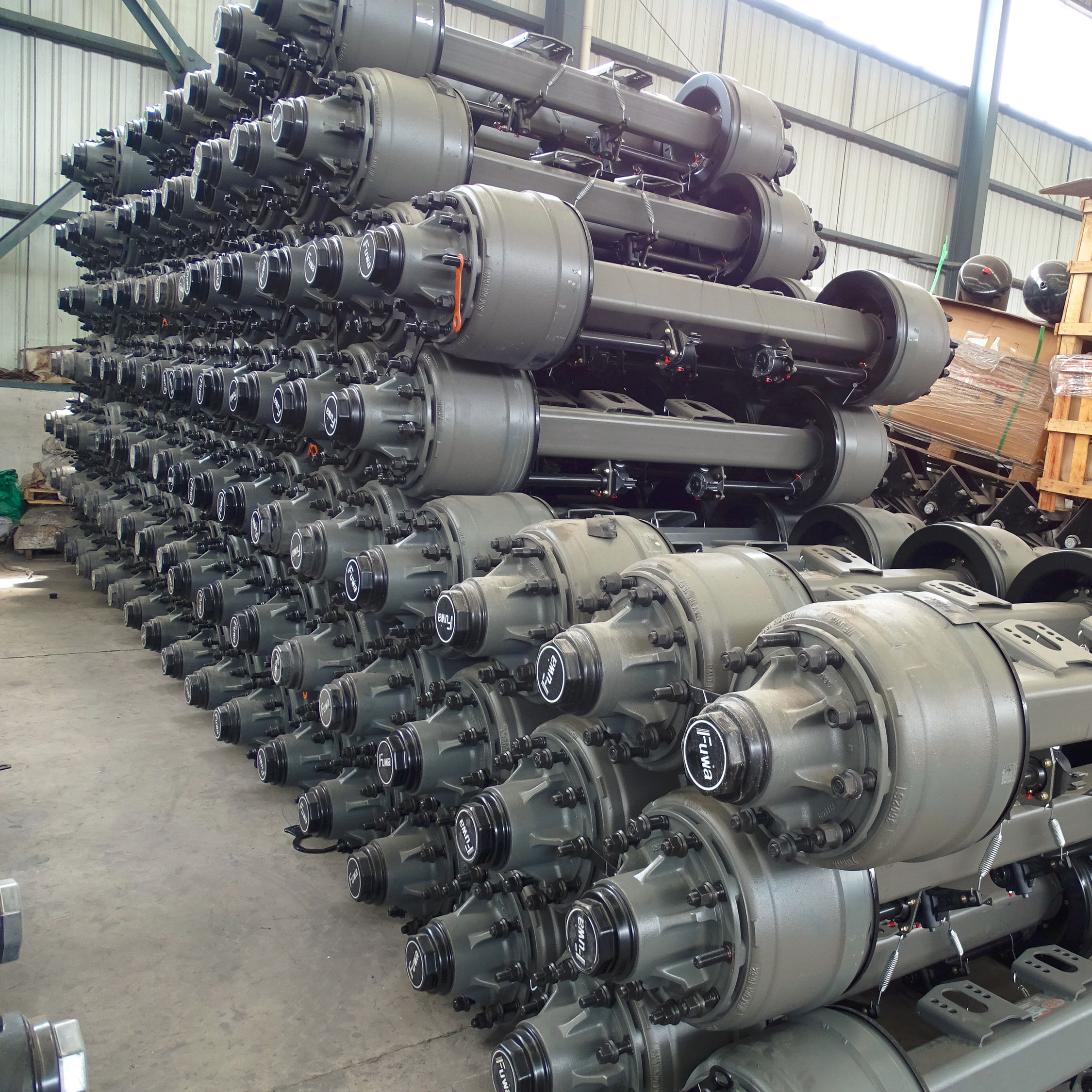 FUWA 13 Ton Axles for Trailer Application Trailer Parts