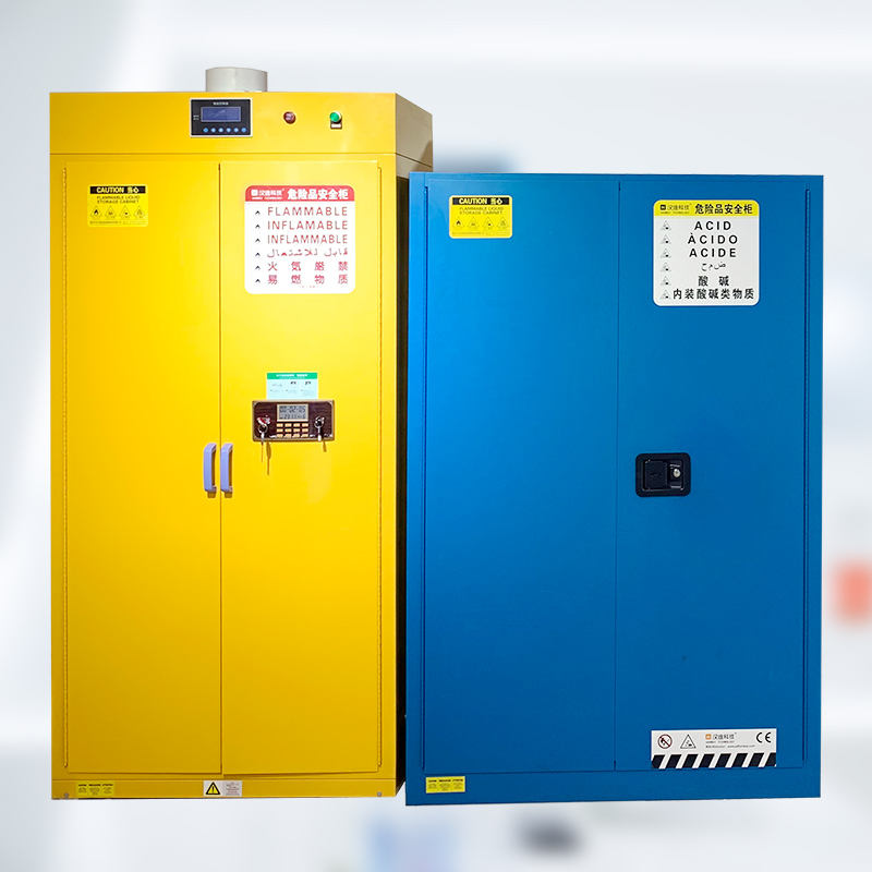 High Quality Laboratory / Industry Fireproof Gas Cylinder Safety Cabinet