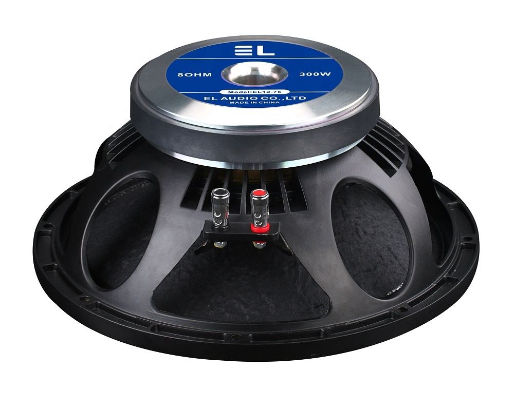 EL12-75 Professional audio system home theatre system multimedia speaker 12 inch professional stage pa loudspeaker
