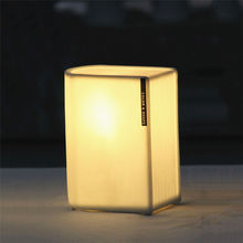 Wholesale high quality book shape ceramic table night light for hotel