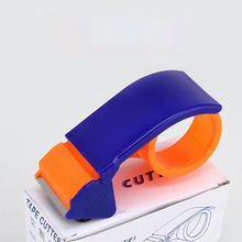 "Plastic packing sealing tape dispenser with 2"" tape"