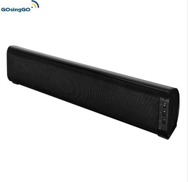 Nirkabel Soundbar untuk Home Theater, 2.0 Channel Soudbar Speaker Rumah Sistem Bioskop