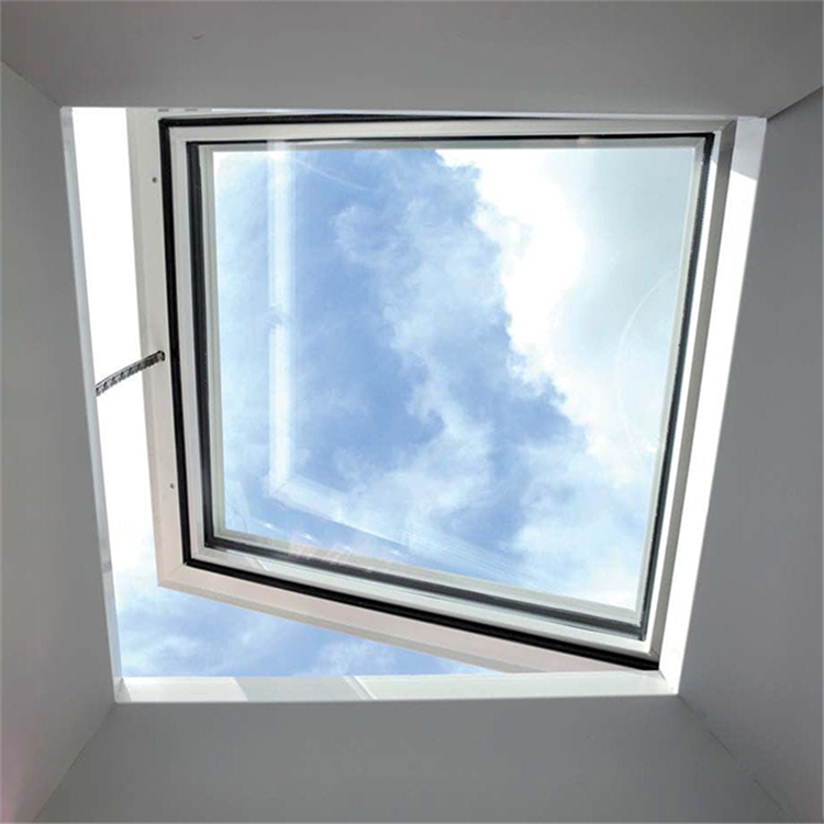 Aluminum profile waterproof flat roof window and skylight thermal break system