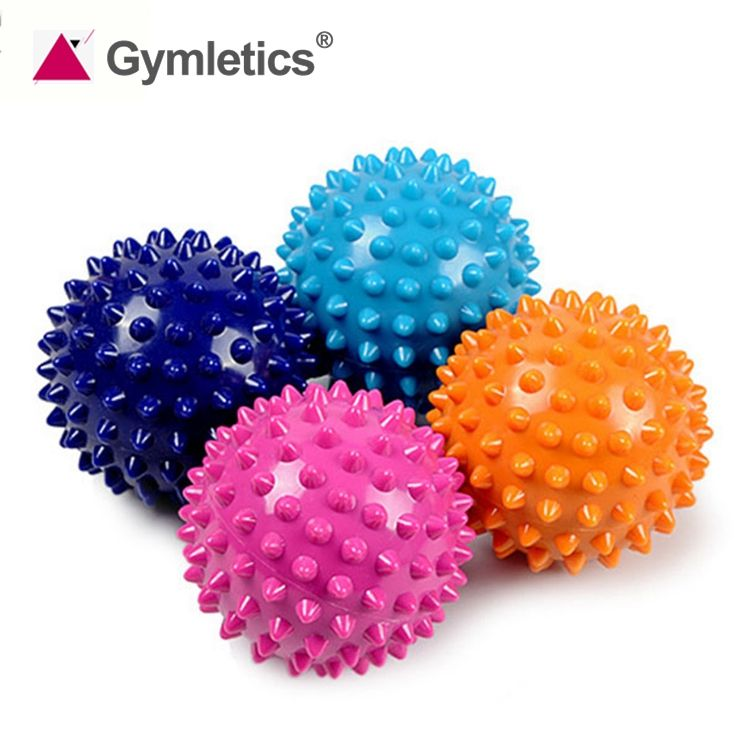 9cm 7.5cm 6.5cm 5.5cm fitness high density hand foot spiky massage ball
