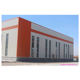 High-strength sloping roof galvanized steel structure frame, used for warehouse self-storage steel structure low-cost high-qual