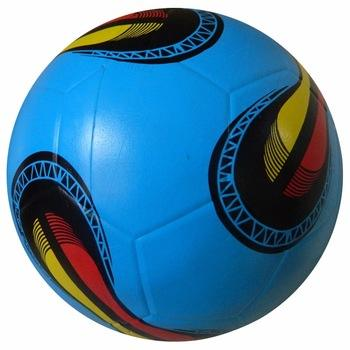 China Supplier Sports football ball logo Products Size 5 Rubber Football ball
