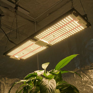 Kingbrite 240W 2021 hot sale lm301h with red 660 qb288 v3 Panel Board grow light with digital dimmer