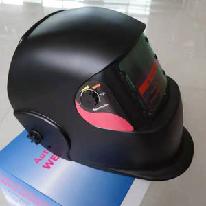 Huarui High Quality Black Welding Mask HRS998F Auto Darkening Welding Helmet