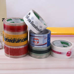 China Quality Carton Box Sealing Packing Tape Supplier Customized Printed Identification Tape