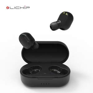 Lichip L449 Tws Benar Wireless Earphone Sport Mobile Stereo Mini In-Ear Handsfree E6S A6s M1 Earbud dengan mic