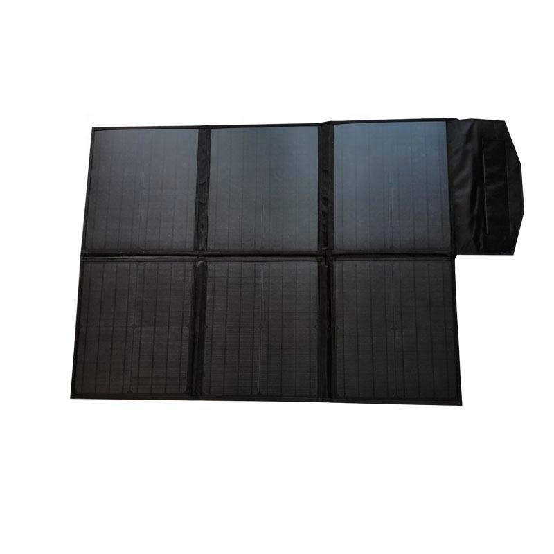 Just Kampers 100W Ultralight Fold Up Solar Panel Kit Motorhome Campervan 18V croc clips