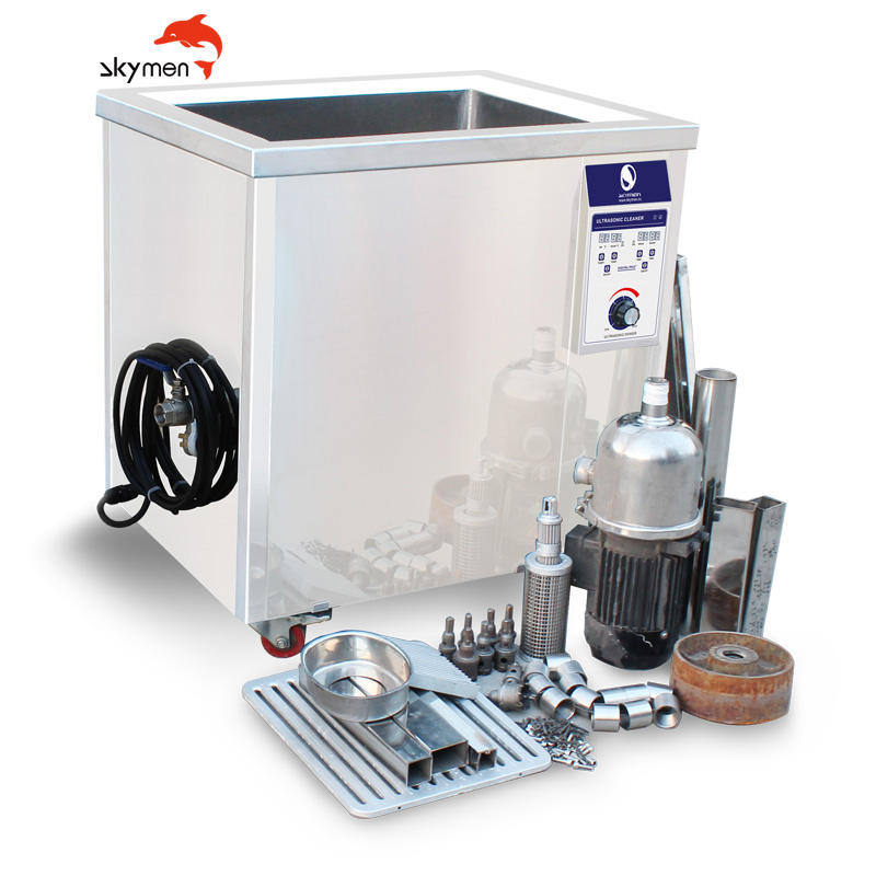 Skymen JP-720ST industrial ultrasonic cleaner for engine block cleaning washer