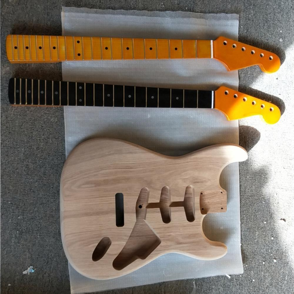 DIY electric guitar body and neck, electric guitar kit