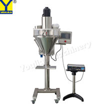 DF-A Semi-auto Vertical Single Head Sachet Coffee Milk Dry Powder Filling Packing Machine for Cans Bottles Bags