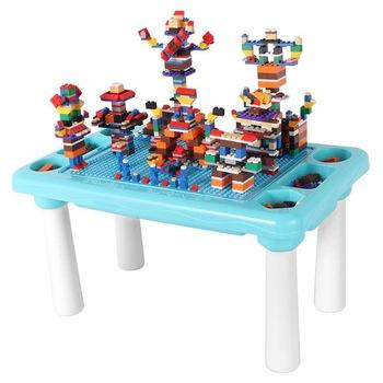 Plastic DIY Assembly Legoing Toys Building Blocks Table